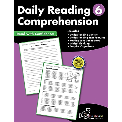 Daily Reading Comprehension Workbook, Grade 6 (CTP8186)