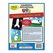 Learning Advantage Tangrams and Pattern Cards, 27/set (CTU8844)