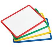 Learning Advantage Plastic Framed Metal Whiteboards, Set of 4 (CTU90564)