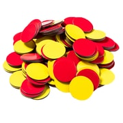 Dowling Magnets Magnetic Two-Color Counters, 200/Pack (DO-732190)