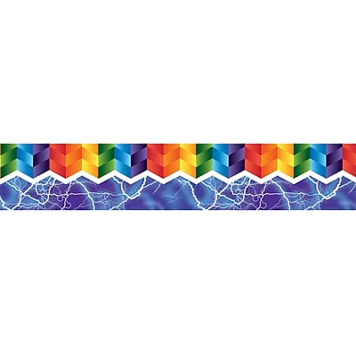 Dowling Magnets ZigZag & Lighting Magnetic Borders (24 x 1.75)