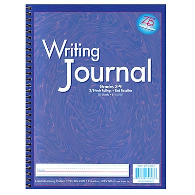 Zaner-Bloser® Writing Journals, Purple, Grade 3-4