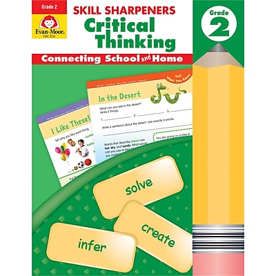 Skill Sharpeners Critical Thinking, Grade 2 (EMC3252)