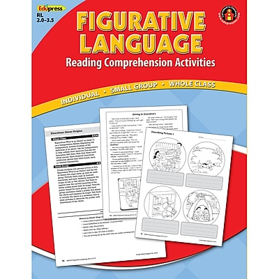 Edupress® Figurative Language Reading Comprehension Book, Red Level
