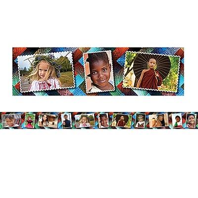 Edupress Multicultural Kids Postcards Photo Border, 39