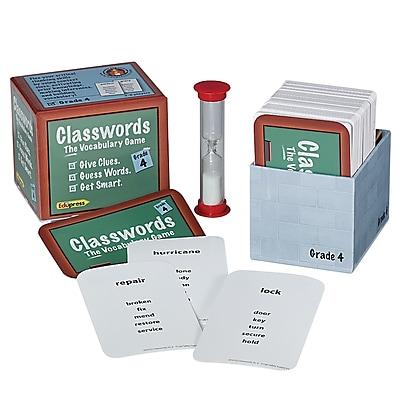 Classwords Vocabulary Game, Grade 4