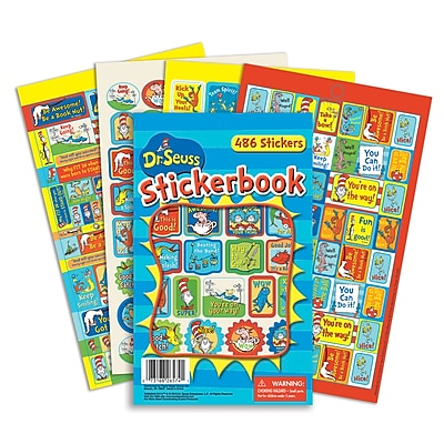 Eureka Sticker Book, Dr. Seuss Awesome
