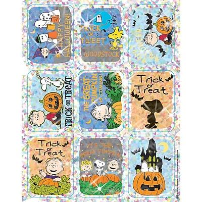Peanuts Halloween Sparkle Stickers