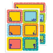 """Eureka Dr Seuss Spot On Seuss Label Stickers 4.6"""" x 7.3"""" Bundle of 6, 56/pk total of 336 (EU-656150)"""