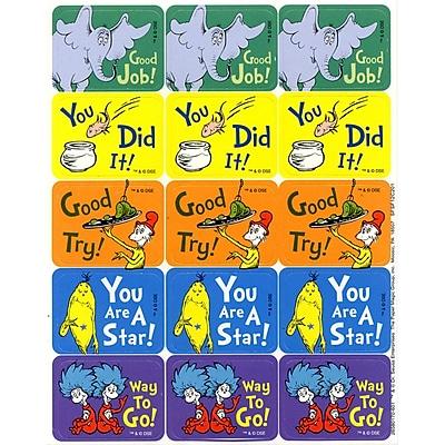 Eureka® Stickers, Dr Seuss™ Success, 120/Pack