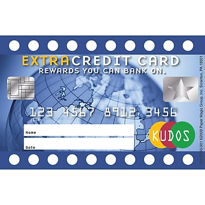 Extra Credit Card Reward Punch Cards