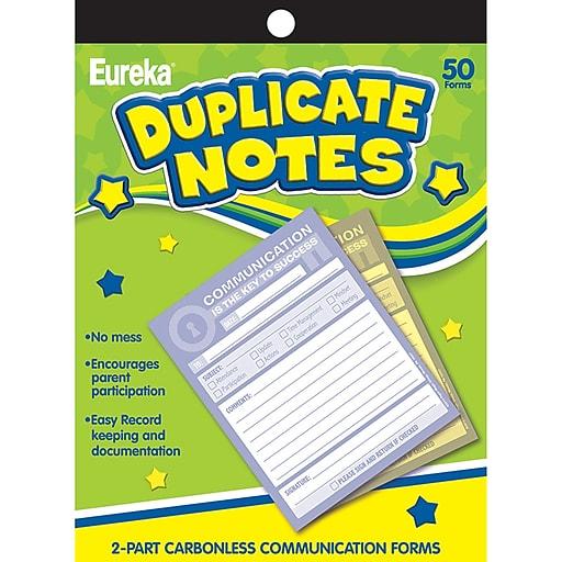 "Eureka® Key to Success Duplicate Notes, 4"" x 6"" (EU-863205)"