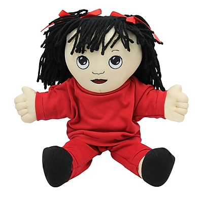 Children's Factory® Asian Girl In Sweat Suit Soft Ethnic Doll, 14
