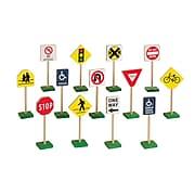 "Block Play Traffic Signs, 7"""