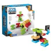 Guidecraft IO Blocks 76 Piece Set, Assorted Colors (GD-9600)