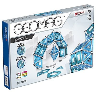 GeoMagWorld PRO L Building Set, 174 pieces