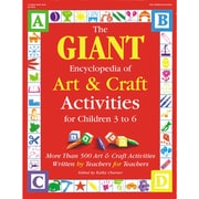 The GIANT Encyclopedia of Art & Craft Activities, Children 3 to 6, 576 pages (GR-16854)