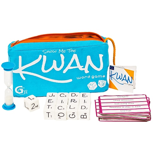 Griddly Games Show Me The KWAN Word Game, Grades 3-10 (GRG4000255)