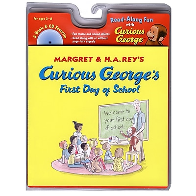Carry Along Book & CD Sets, Curious George's First Day of School