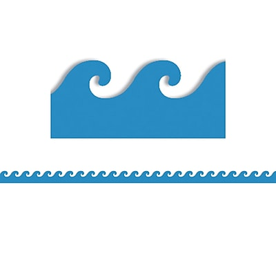 Blue Waves Mighty Brights™ Border, 3