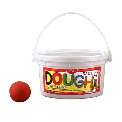 Scented Dazzlin' Dough, Red (Watermelon), 3 lb. tub