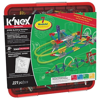 K'NEX® Wheels & Axles and Inclined Planes