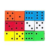 Koplow Games Assorted Math Foam Dice, Ages 5+ (KOP17332)