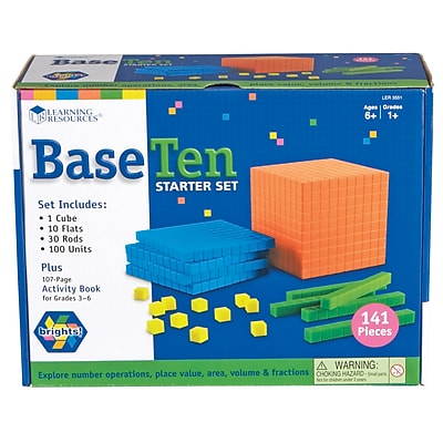 Learning Resources Brights!™ Base Ten Starter Set LER3551