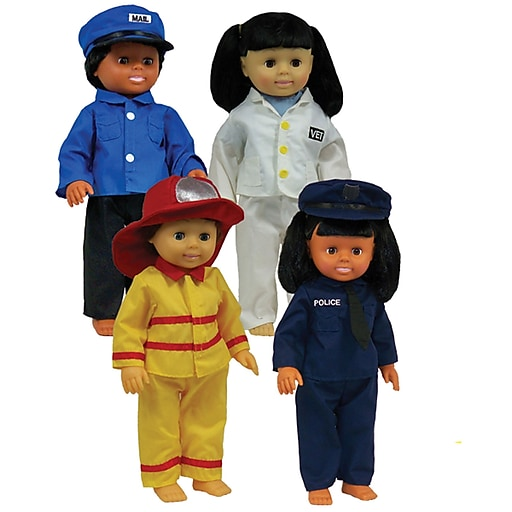 Get Ready Kids® Career Doll Clothes, 4/Set