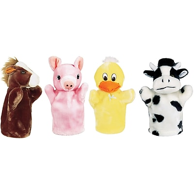 Get Ready Kids Animal Puppets, Farm Puppet,