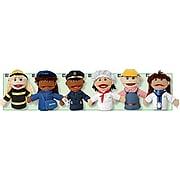 "Marvel Education Multi Ethnic Career Puppet, 9"", 6/Set"