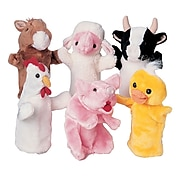 Farm Favorites Puppets, Set of 6