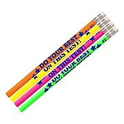 Musgrave Do Your Best On The Test Motivational Pencils, Pack of 12 (MUS2495D)