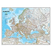 """National Geographic Maps Europe Wall Map, 30"""" x 24"""""""