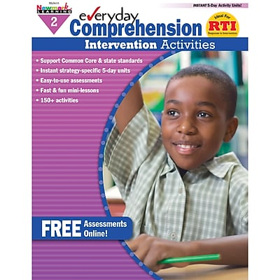 Everyday Comprehension, Grade 2, 1 book with CD-ROM