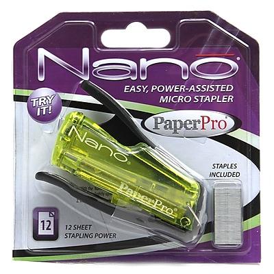 PaperPro® Nano® Mini Stapler, 1/4