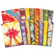 "Roylco Tie Dye Craft Paper, 8.5"" x 11"", Assorted Designs, 32 Sheets (R-15263)"