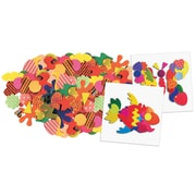 Roylco Paper Popz Shapes, 2.5-Inch, Assorted Colors, 1500 Pieces (R-15648)