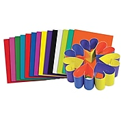 """Roylco Double Color 8"""" x 9"""" Craft Sheets, Multicolored, 100/Pack (R-22052)"""