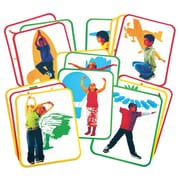 "Roylco® Body Poetry: Yoga Cards, 8-1/2"" x 11"", 16 cards"
