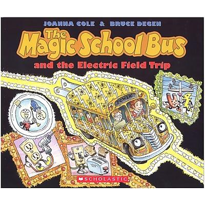Scholastic Magic School Bus Books, The Magic School Bus and the Electric Field Trip