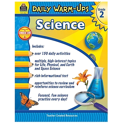 Teacher Created Resources Daily Warm Ups Gr 2 (TCR3967)