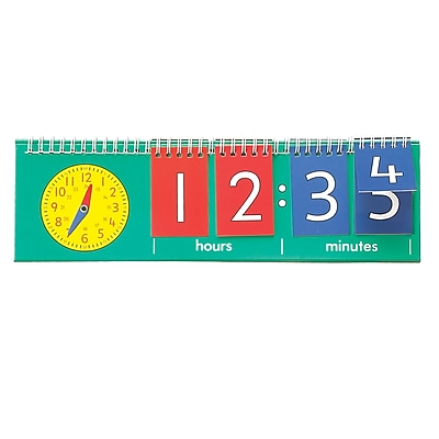 Learning Advantage Time Flip Chart, Student Size (CTU7548)