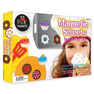 Dowling Magnets, Magnetic Sweets Sort and Play