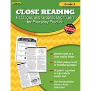 Teacher Created Resources Close Reading Practice Book Gr 3 (EP-2561)