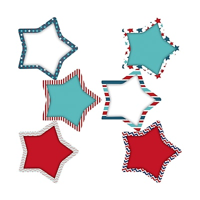 Teacher Created Resources Patriotic Stars Accents, 36/Pack (EP-359)