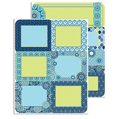 Eureka Blue Harmony Labels, 7.3
