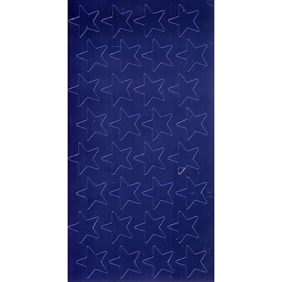 Eureka® Stars Stickers, Blue Foil, 3/4