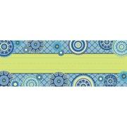 "Eureka Blue Harmony Name Plates 1 Line, 9.625"" x 3.25, Bundle of 3, 36/pk total of 108 (EU-833186)"