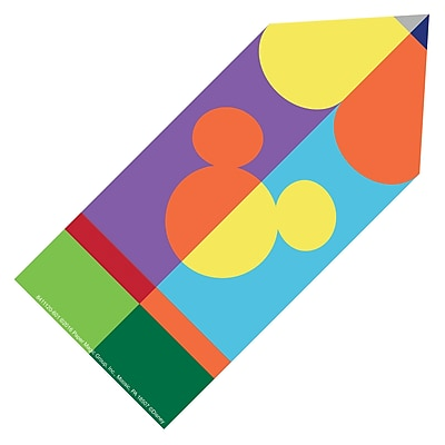 Eureka Geo Mickey Pencil Paper Cuts Outs, 5.5